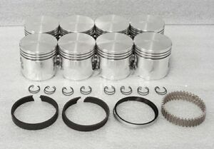 "Sealed Power Ford Mercury 292 Y-Block Pistons+Rings +060"" F100 Thunderbird"
