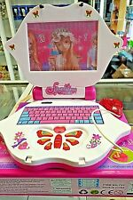 Baby Kids Pre School Educational Learning Study Toy Laptop Computer Game Pink