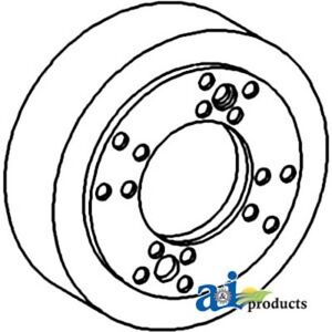 70237418 Brake Drum Assy Fits Allis-Chalmers Tractor: D17 (SN 42001>),170 175