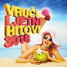 Various Artists - Vruci ljetni hitovi 2018, croatian cd album