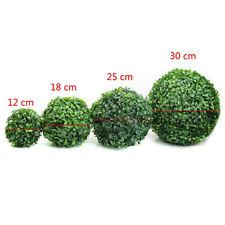 Topiary Ball Artificial Plastic Green Grass Wedding Party Garden Hanging Decor