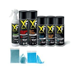 SET MOTO XFORTE pulizia senz'acqua e senza risciacquo – 7 PRODOTTI