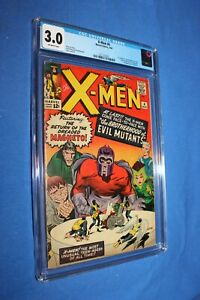 X-Men #4 1964 CGC 3.0 1st Quicksilver & Scarlet Witch (never cleaned or pressed)