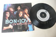 "BON JOVI ""I'LL BE THERE FOR YOU-  45 giri VERTIGO Uk 1988"""