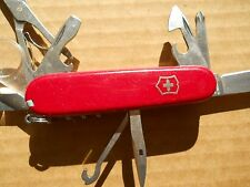 Victorinox Explorer Swiss Army knives in red - new style glass, with pin