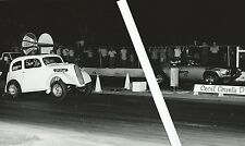1970s NHRA Drag Racing-1948 C/G Anglia vs B/MP Camaro-Cecil County Dragway-1972
