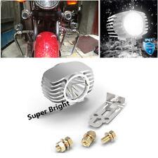 15W LED Spot Motorcycle Headlight Driving Fog Lamp High / Low Beam Waterproof