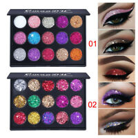 Women Shimmer Glitter Eye Shadow Powder Palette Matte Eyeshadow Makeup Beauty