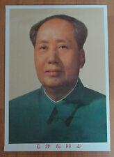 China Poster Mao Zedong 56x42cm
