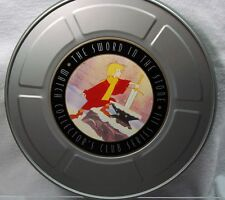 Walt Disney Dscc Club Collector Watch Series 3 Sword in the Stone in Movie Tin