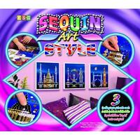 Sequin Art Style London Craft Kit 1316 KSG