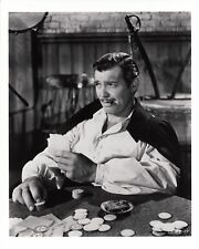 Clark Gable Gone with the Wind b&w photo GWTW  #291 Playing Cards with Cigar