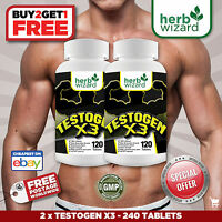 TESTOGEN ANABOLIC -STRONG LEGAL TESTOSTERONE MUSCLE BOOSTER  X2