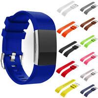 Montre Bracelet en Silicon Sportif Bande pour Fitbit Charge 2 de Rechange