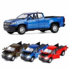 1:32 Chevrolet Colorado ZR2 Pickup Truck Model Car Diecast Vehicle Sound Light