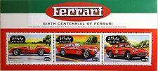MALDIVES MALEDIVEN 1998 Klb 3153-55 Enzo Ferrari Automobiles Sports Cars Autos