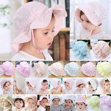 e6010e7ff1bbc Toddler Baby Girl Flower Princess Bucket Sun Hat Summer Beach Bonnet Beanie  Cap