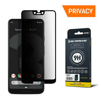 GPEL®Google Pixel 3 XL Screen Protector Tempered Glass Privacy, Case-Friendly