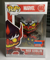 Funko POP Marvel - Red Goblin #682 NYCC SHARED EXCLUSIVE *In Hand* Mint With Box