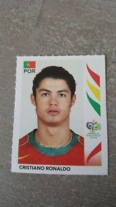 Panini Sticker Wold Cup Germany 2006 Christiano Ronaldo N° 298