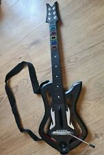 Guitar Hero Warriors of RocK Controller PlayStation 3 PS3 + Dongle + Games
