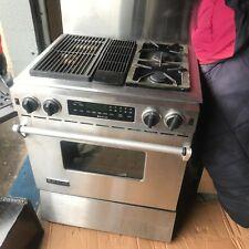 Jennair Jds9860Aap downdraft stainless duel fuel range Jds9860 grill