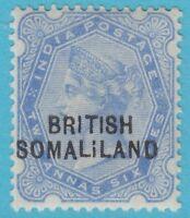 SOMALILAND 14 MINT HINGED OG *    1903 NO FAULTS EXTRA FINE  ! BROKEN I VARIETY