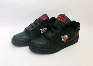 vintage converse ox chicago bulls shoes sneakers mens size 8 deadstock NIB 90s