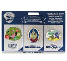 Disney 30th Anniversary Pin Limited Edition Week 5 Fantasia Monsters Lilo Stitch