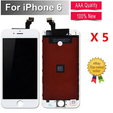 """5X For iPhone 6 4.7"""" Screen LCD Touch Replacement Display Assembly Digitizer"""