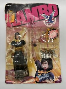 Rambo K.A.T. Action Figure (Complete With Accessories) Box Sealed.