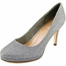 New listing Style & Co Nikolet Women Open Toe Synthetic Silver Platform, Sliver, Size 8.5