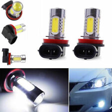 2x Bright Error free H11 LED projector Fog Light bulb For BMW E90 325 328 335i