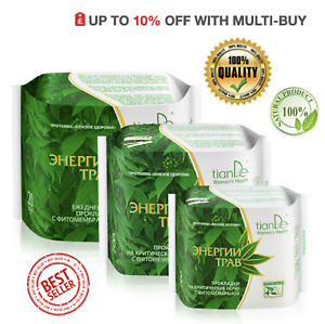 TianDe Herbal Energies Phytomembrane Panty Liners & Hygiene Day & Night Pads
