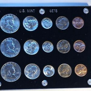 1952 US MINT COIN COLLECTION P S D. VERY SCARCE!!! LE419