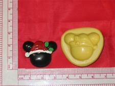 Christmas Mickey Mouse Silicone Mold A720 Cake Chocolate Resin Fondant Clay Soap