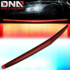 FOR 2006-2011 CADILLAC DTS FULL LED THIRD 3RD TAIL BRAKE LIGHT LAMP BAR RED LENS