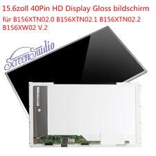"B156XTN02.0 B156XTN02.1 B156XTN02.2 B156XW02 V.2 LED Display 15,6"" Bildschirm"