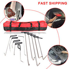 New 21 Pieces Auto Body Dent Removal Hook Rod Tool Kit- Hail And Door Ding Repair Starter Set In Fashionable a+b+c Style;