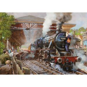 Pickering Station by David Noble Sealed 500 Piece Gibsons Jigsaw Puzzles