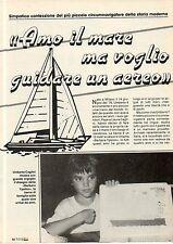 Ga30  Clipping-Ritaglio 1986 Umberto Caglini