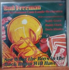 BUD FREEMAN 1940 Teddy Grace Buddy Clark Brad Gowans Pee Wee Russell LP