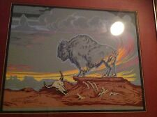 Famous Artist Rodolfo Guzzardi 1975 Native American Artwork Must See Wow!