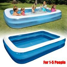Summer Large Family Swimming Pool Garden Outdoor Inflatable Paddling Pool Family