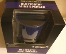 Silvercrest Purple Bluetooth Mini Speaker
