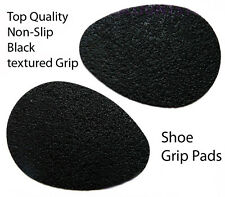 Shoe Pad Non Slip Textured Black Rubber Grips * offers Good Support * (2 Pairs)
