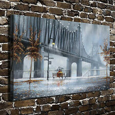 The rain is romantic Paintings HD Print on Canvas Home Decor Wall Art Picture