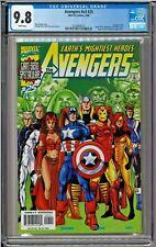 Avengers #v3 #25 #440 CGC 9.8 White Spider-Man Quicksilver Hercules Nova app