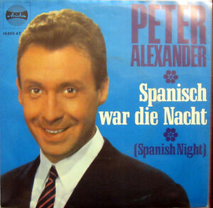 Single / PETER ALEXANDER / ARIOLA / DE PRESS / 196? / RAR /