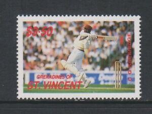 St Vincent Grenadinen - 1988,Cricketspieler,C G Greenidge Briefmarke - - Sg 580